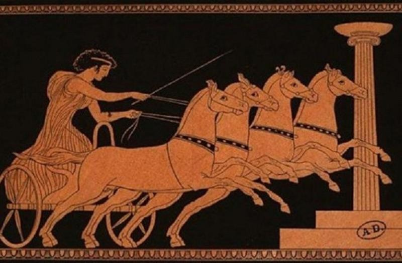 how the olympic games was in the roman empire between 776 bc and 393 ad