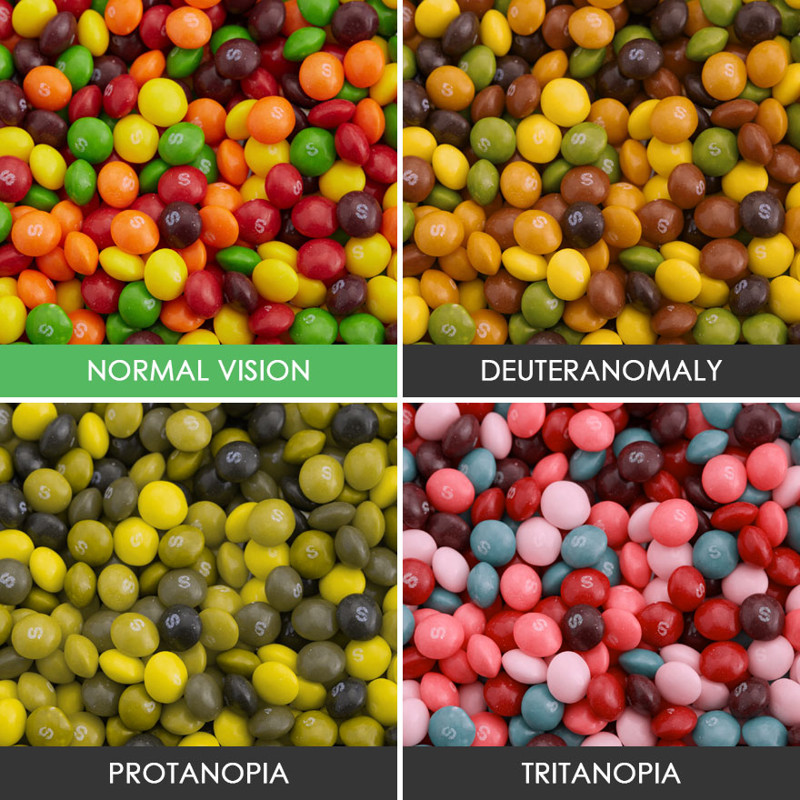 essays on color blindness Color blindness color blindness is the inability to see certain colors in the usual way also called a color vision problem a color vision problem can change your life it makes it harder to learn and read, and you may not be able to have certain careers.