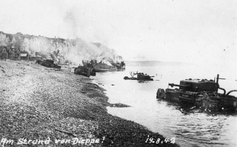 the controversy over the dieppe raid essay