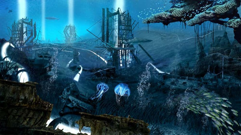Lost city of atlantis