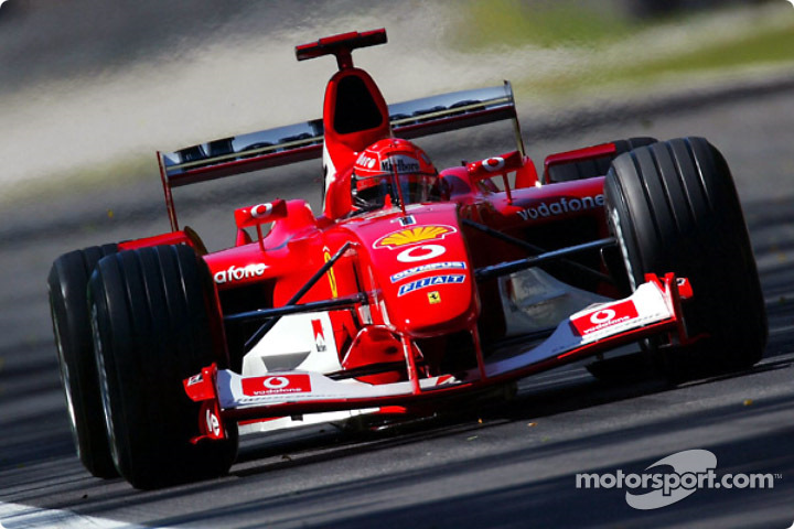 Michael schumacher cars movie