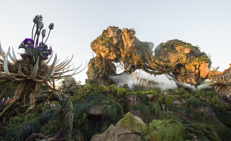 Тематический парк Pandora World of Avatar land в Disney World (25 фото + 1 видео)