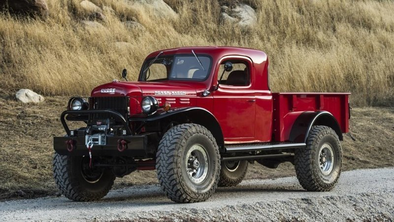 Автомобиль Legacy Dodge Power Wagon (12 фото)