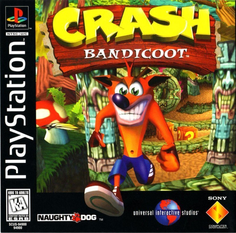 История создания Crash Bandicoot (11 фото)