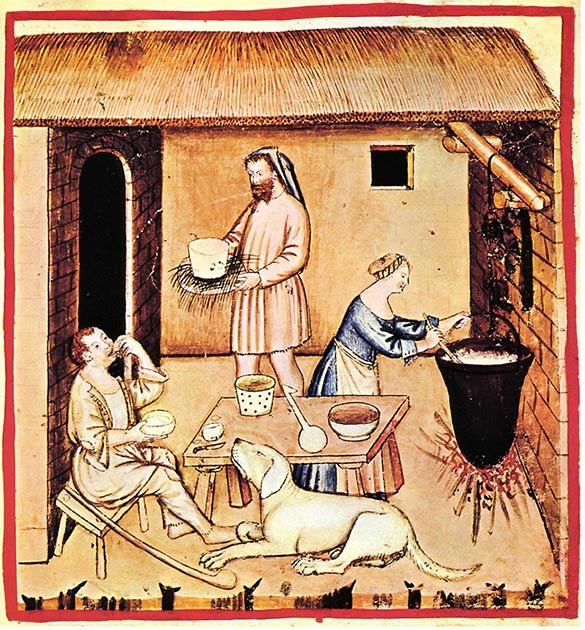 ancient food service history