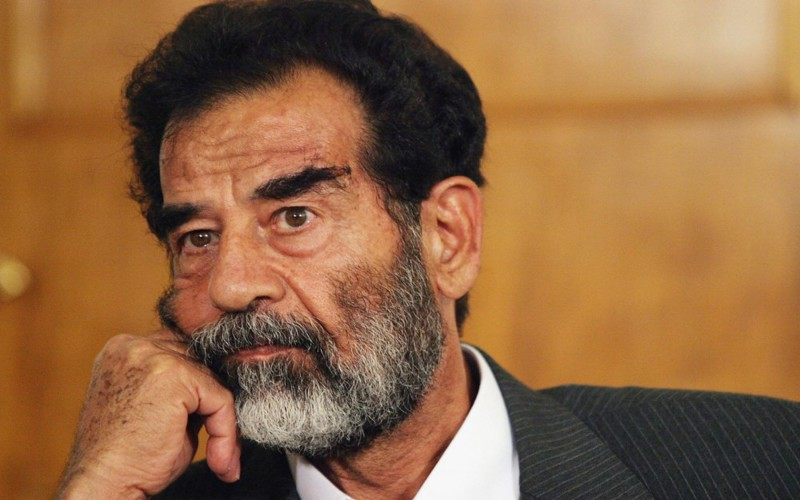 the life and presidency of saddam hussein and enmity with the us
