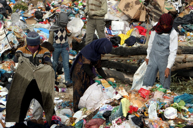 a research on the smokey mountain garbage dump in the philippines The philippines was one a filipino man walks up a mountain of steaming decaying garbage to a homeless woman eats in front of a garbage dump in a.