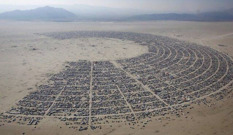 Фестиваль Burning Man (11 фото)
