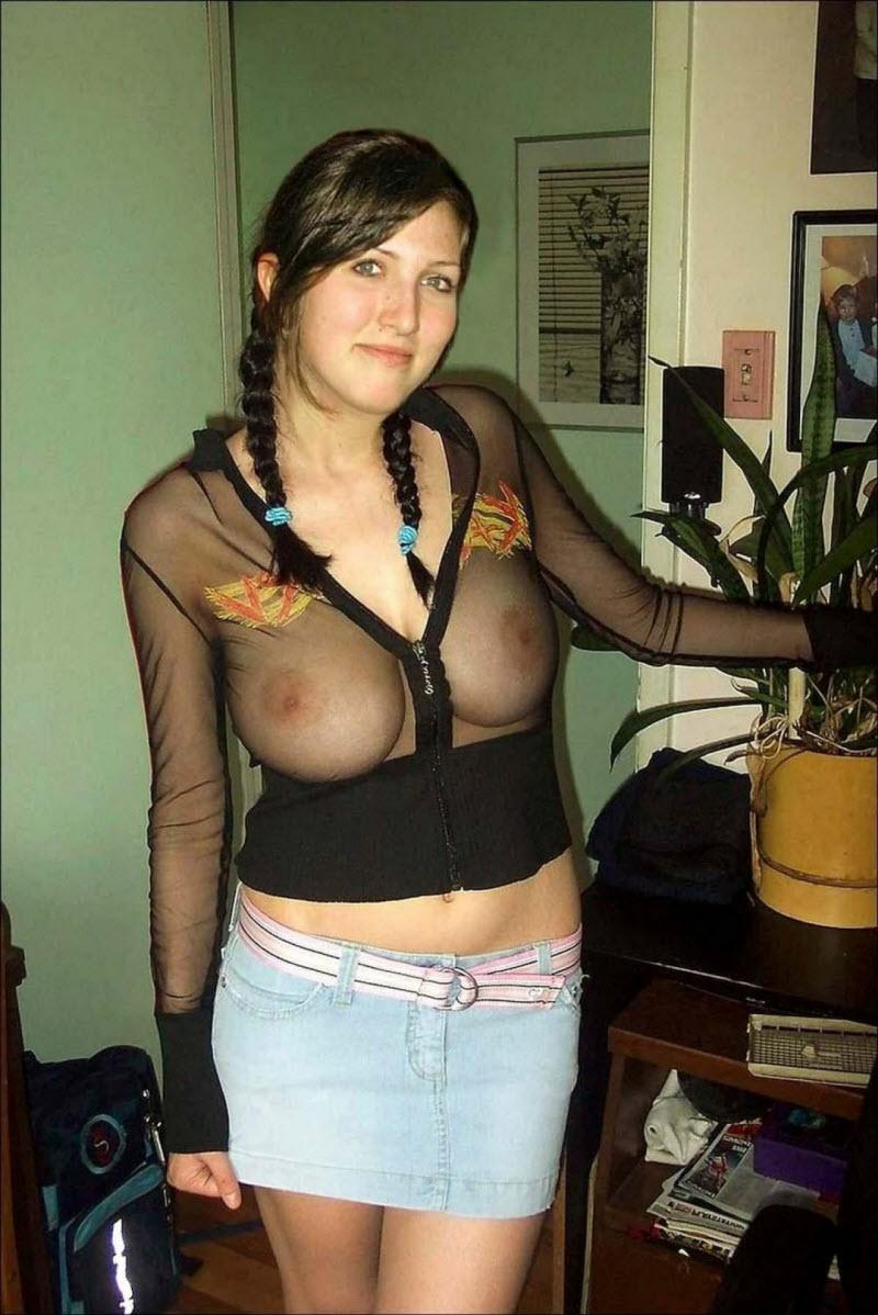 титьки в одежде